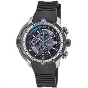 Citizen Black Rubber Round Dial Quartz Watch For Men (BJ2120-07E)