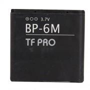 Tfpro 1070 Mah Lithium Ion Battery for Nokia Bp 6M 3250 XpressMusic 6151 6233 6234 6280 6288 9300 9300i N73 N77 N93 N97 3250