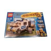 LEGO 66363 City - Paquete especial 4 en 1 de la policía (7235, 7236, 7741 y 7245)