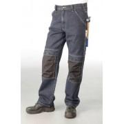 Worker Jeans mit Kniebesatz, Farbe blau, Gr. 62