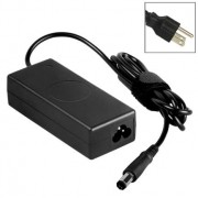 US Plug AC Adapter 19.5V 3.34A 65W for Dell Notebook Output Tips: 7.9 x 5.0mm (Original Version)