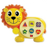 The Learning Journey International Early Learning On The Go Lion Toy With Six Sing-Along Melodies