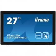 "IIYAMA MONITOR IIYAMA PROLITE T2735MSC-B2 (TOUCH, 27"", FULL HD 1920 X 1080, AMVA+ LED, WEBCAM, DVI, HDMI). RÓWNIEŻ ZE ZNIŻKĄ EDU -10%"