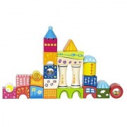 Hape - Fantasia Blocks Castle Wooden Stacking Toy
