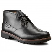 Обувки CLARKS - Montacute Duke 203510967 Black Leather