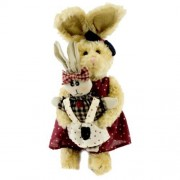 Boyds Bears Plush EMILY WITH ELLIE SPRING 2012 915034 Country Rabbit New