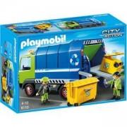 Комплект Плеймобил 6110 - Kамион за отпадъци - Playmobil, 291153