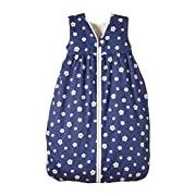 LANA natural wear Unisex Baby Schlafsack Blume Nicky Floral Sleeping Bag