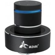 Boxa Portabila Adin Vibration Speaker MMDS8BTN, Handsfree, Bluetooth, NFC (Negru)