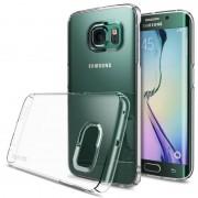 Husa Protectie Spate Ringke Slim Crystal Transparent plus folie protectie pentru Samsung Galaxy S6 Edge