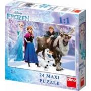 Puzzle de podea - Frozen 24 piese