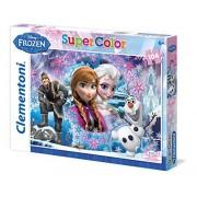 Clementoni 27913 - Puzzle Frozen, 104 Pezzi