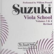 Suzuki Viola School, Vol 3 & 4 by William Preucil