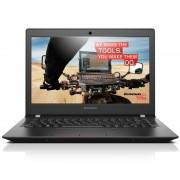 "Notebook Lenovo E31-80, 13.3"" Full HD, Intel Core i5-6200U, RAM 4GB, SSHD 500GB, Windows 10 Pro, Negru"