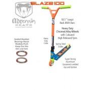 ADRENALIN BLAZE 100 STUNT SCOOTER - Blue/Orange