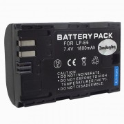 LP-E6 Compatible 7.2V 1800mAh Batterie pour Canon EOS 5D MarkII / Canon EOS TD
