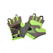 LEONE GUANTI BODY BUILDING - GRIGIO/VERDE - AB712-06