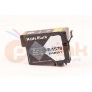 EPSON T1578 : Cartouche d'encre Noire Mat COMPATIBLE Haute Capacité (25.9ml) équivalent à Epson C13T157840 pour imprimante EPSON STYLUS PHOTO R3000