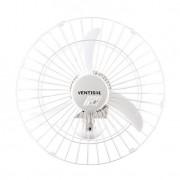 Ventilador de Parede 50 CM Branco 127V Grade em Aço