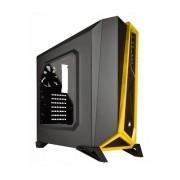 Gabinete Corsair Carbide Spec-Alpha con Ventana, Midi-Tower, ATX/micro-ATX/mini-ATX, USB 3.0, sin Fuente, Negro/Amarillo