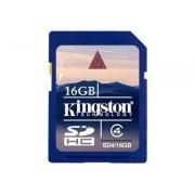 Kingston Minneskort Kingston 16 GB SDHC-kort