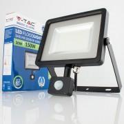 Projetor LED 30w»150W Luz Fria 2400Lm SENSOR SLIM PR