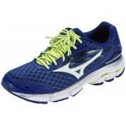 Mizuno Wave Inspire 12 Running Shoes Men blue depth/white/safety yellow 2016 46,5 Gest