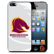 NRL Licensed Brisbane Broncos Watermark Back Case for iPhone 5/5S