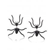 rosegal Punk Spider Shape Stud Earrings