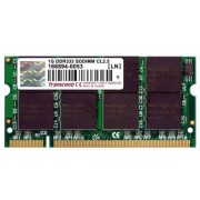 Transcend 1 GB SO-DIMM DDR 333MHz - Transcend CL2.5