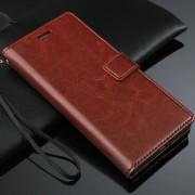 Leren hoesje Huawei Ascend P8 bruin