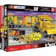 KNEX NASCAR Building Set: #18 M&Ms Transporter Rig