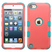 Funda Protector Triple Layer Apple Ipod Touch 5G / 6G Coral / Aqua