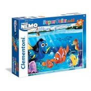 Clementoni 26409 - Puzzle Finding Nemo, 60 Maxi Pezzi, Multicolore