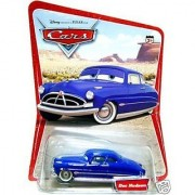 Disney Pixar Cars Doc Hudson Original First Issue 12 Cars Mispelled Filmore on Back of Desert Background Card Mattel 1:55 Scale