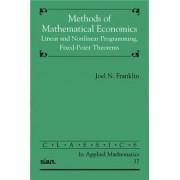 Methods of Mathematical Economics by Joel Nick Franklin