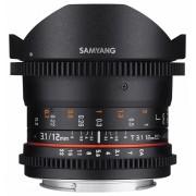 Samyang 12mm T3.1 VDSLR ED AS NCS Fish-eye (Pentax K)