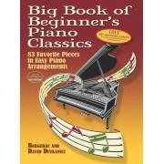 Big Book of Beginner's Piano Classics: 83 Favorite Pieces in Easy Piano Arrangements
