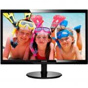 Monitor Philips LCD 246V5LHAB 24 inch Negru
