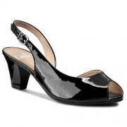 Sandały CAPRICE - 9-29500-26 Black Patent 018