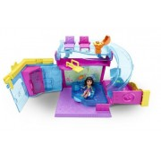 Polly Pocket Pollyville Pool Playset
