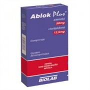 Ablok Plus 50mg 12,5mg Com 30 Comprimidos