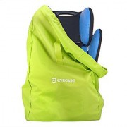 Car Seat Travel Bag Evecase Baby Child Car Seat Carrying Travel Case Bag with Backpack Shoulder Strap - Green