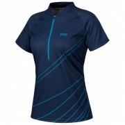 iXS - Women's Trail 6.2 Jersey - Radtrikot Gr 42 blau/schwarz