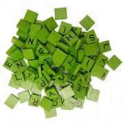 Segolike 100 Pieces Scrabbler Wood Tiles Complete Set Letter Game Alphabet Piece