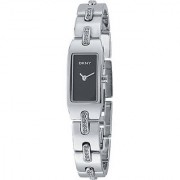 DKNY Quartz Silver Rectangle Women Watch NY3430 DKNY