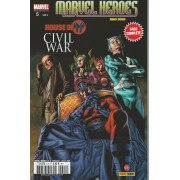 Marvel Heroes Extra 4 + Hors-Série 5 ( Histoires Complètes, Prélude House Of M, Christos Gage, V.F. 2009 - 10 )