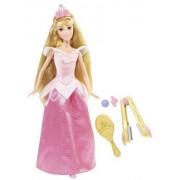 Disney Princess Crimp And Style Sleeping Beauty Doll by Mattel (English Manual)