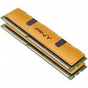PNY Optima MD8192KD3-1333 Desktop Memory Kit - 8GB (2x4GB), PC3-10666, DDR3 1333MHz