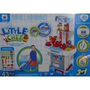 Small Gourmet 43db-os 71 cm gyerek játék - No.W037